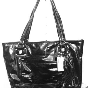 Marc Fisher New w/ Tag patent leather tote shopper